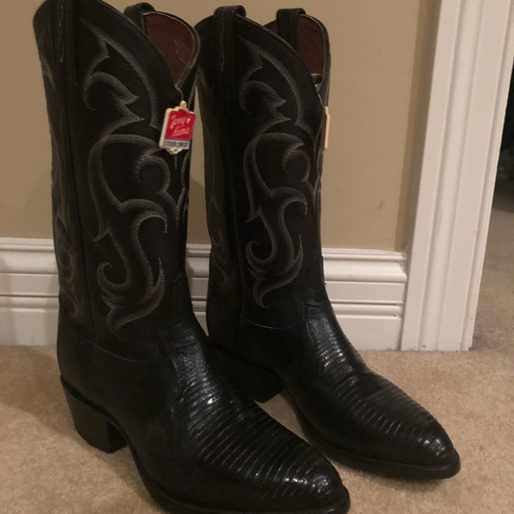 849185459c0 Tony Lama Men's Lizard Exotic Cowboy boots 8 1/2D NWT